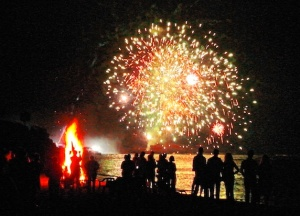 Fireeworks display