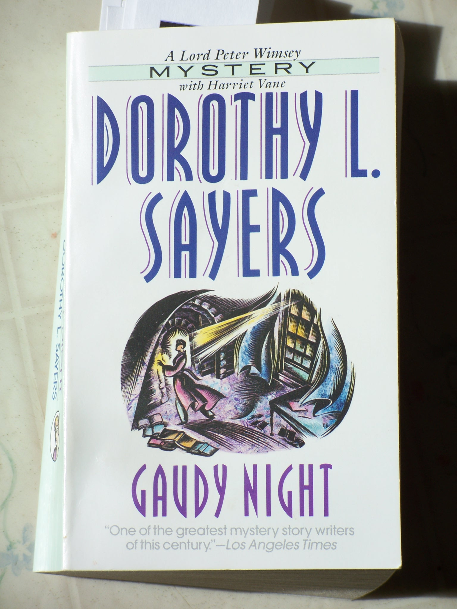 gaudy night Download gaudy night audiobook by dorothy l sayers at downpour audio books - when harriet vane attends her oxford reunion, known as the gaudy, the prim academic setting is haunted by a rash of bizarre pranks: scrawled obscenities, burnt effigies, and poison-pen letters—including one that says, ask your boyfriend with the title if he likes arsenic in his soupsome of the notes.