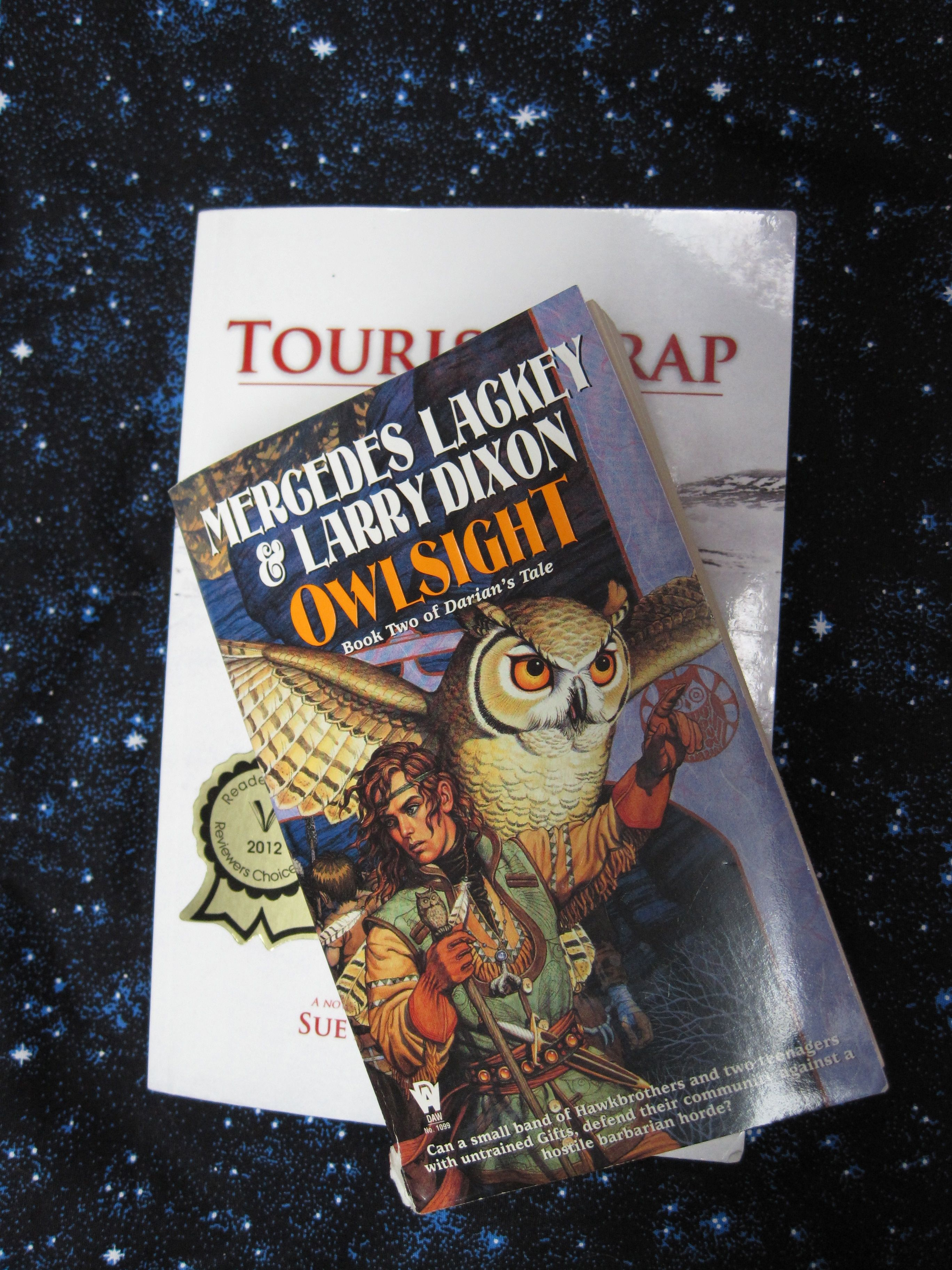 The first 6 quotes are from Owlsight, by Mercedes Lackey ...
