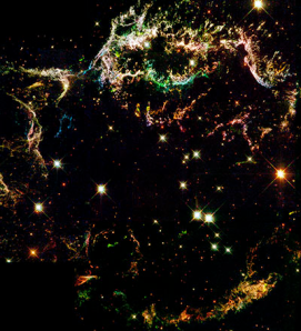 Cassiopeia A Supernova Remnant (Hubble)