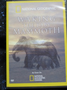 DVD cover, Waking the Baby Mammoth