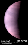 Venus, Hubble photo