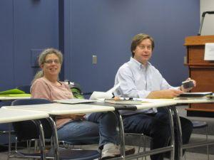 Jeanne Clark and Rob Davidson