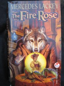 Cover, The Fire Rose