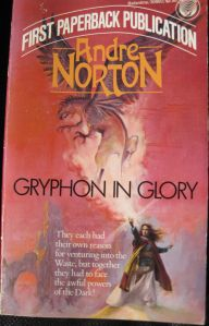 Book cover, Gryphon in Glory