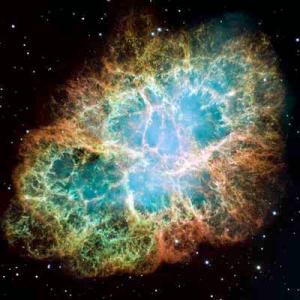 Crab Nebula, Hubble