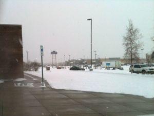 Heated sidewalk