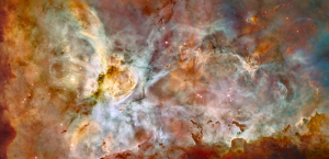 Star birth in the Carina nebula, credit Hubble Gallery