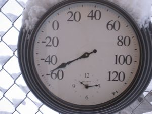 Thermometer dial -48°