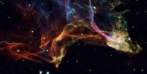 Veil Nebula, hubble