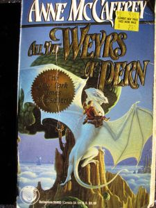 cover, All the Weyrs of Pern