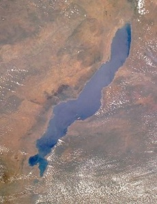 Lake Malawi (NASA image.)