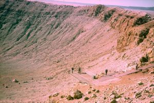 Meteor Crater Enhanced