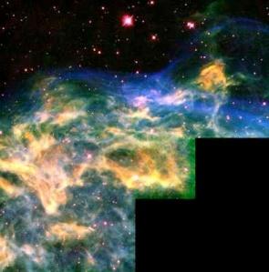 WR 136, Hubble