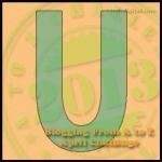 Letter U