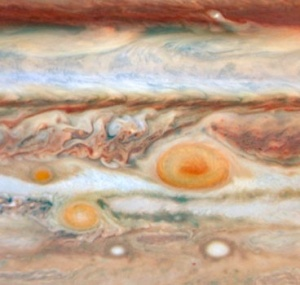 New Red Spot, Hubble