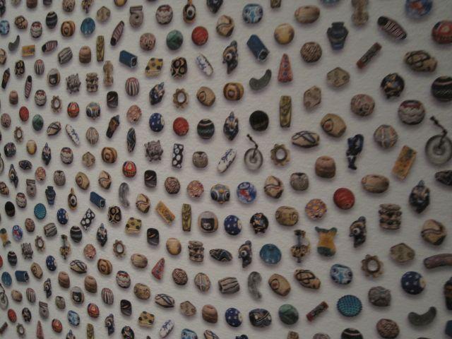 closeup- beads