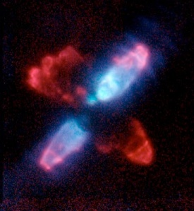 Egg Nebula in IR; Hubble