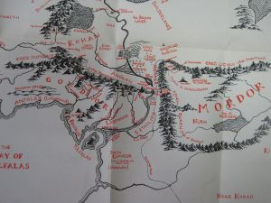 Map Mordor